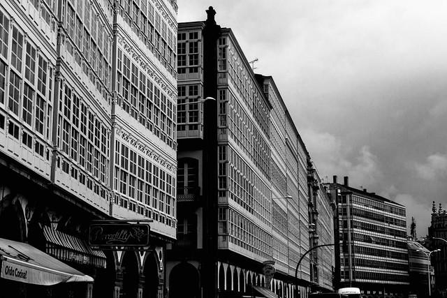 Galerias en el puerto - Coruña