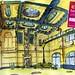 Holanda Groningen Train Station by World Sketching Tour