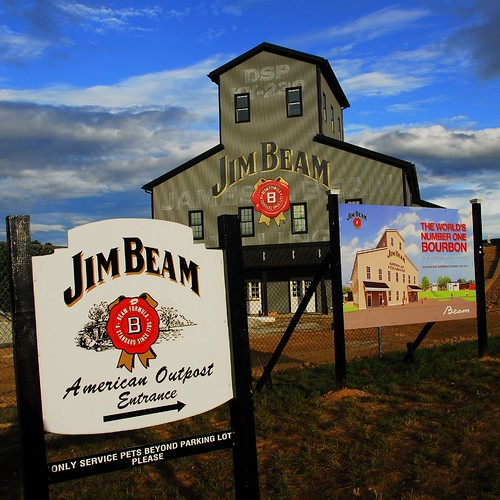 Renovating the Jim Beam distillary
