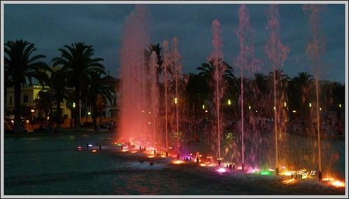 Fuente Luminosa by Miguel Allué Aguilar