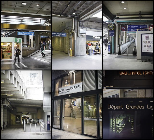 Long way to Montparnasse3 station...