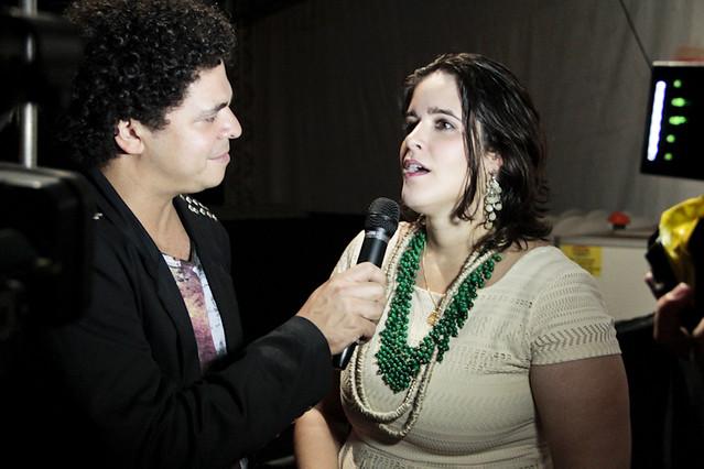 Alessandra Leão se apresentou no Palco Pop do FIG 2012. |Foto: Olívia Leite