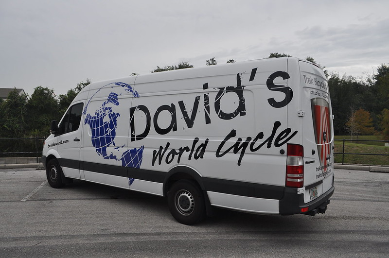Dodge Sprinter van wrap