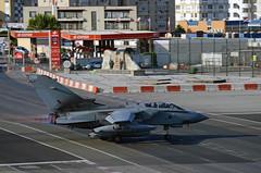 RAF Tornado GR4 ZD720/086 - Afterburner Departure from RAF Gibraltar