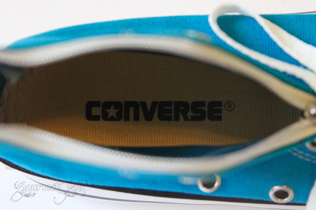 Converse Shoe Pencil Pouch Inside