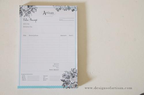 Sales Receipt Design iamartisan – How to Design a Receipt