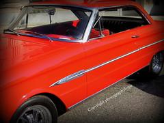 1963 Falcon Futura Resto Mod in Red