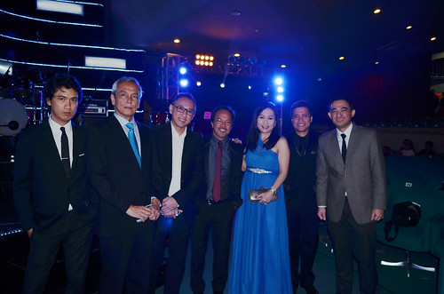 The Board of Judges (L-R) Ely Buendia, Jim Paredes, Louie Ocampo, Noel Cabangon, Kathleen Go, Chico Garcia and Randy Estrellado
