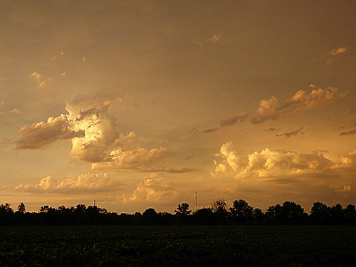 sunset ohio sky storm clouds evening browncounty filteredsunlight hamersville departingstorm