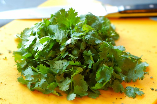 Cilantro by Eve Fox, Garden of Eating blog, copyright 2012