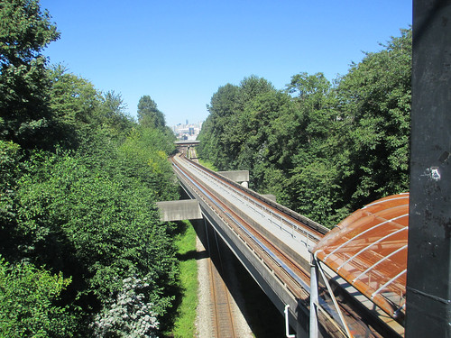Skytrain can make city look green