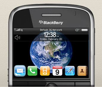 Blackberry Iphone Theme [Download]