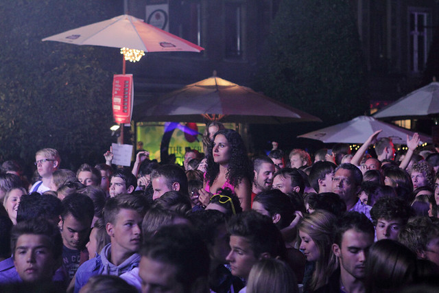 Marktrock - vrijdag 10 augustus 2012
