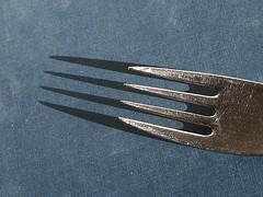 wing(0.0), blade(0.0), fork(1.0), tableware(1.0), cutlery(1.0),