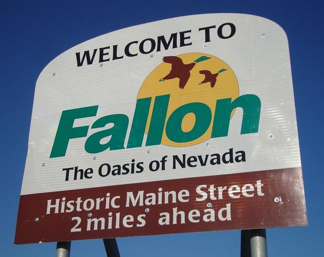 Welcome To Fallon Sign Fallon Nevada Flickr Photo