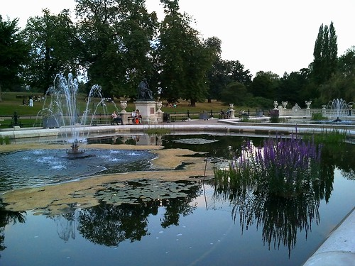 Italian Gardens in Hyde Park London