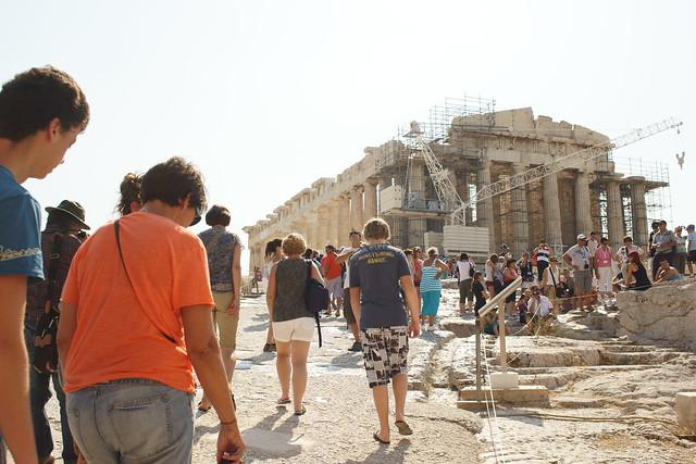 Acropolis of Athens, Aug 2012. 01-010