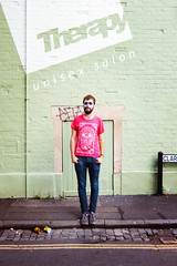 Photograph: Will; Bristol, August 2012. By Simon Holliday.