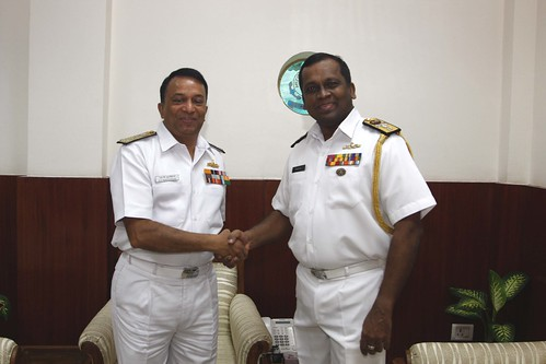INDIA-SRILANKA COAST GUARD HIGH LEVEL MEETING by Chindits