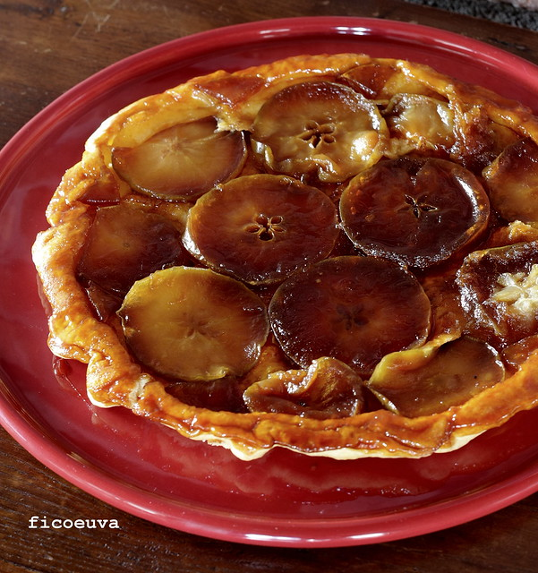 tarte tatin mela con caramello al burro salato