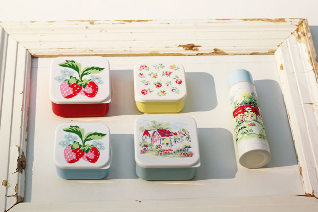 Cath Kidston SS13 Spring Summer floral tupperware containers