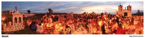 Dia de muertos en San Miguel Canoa