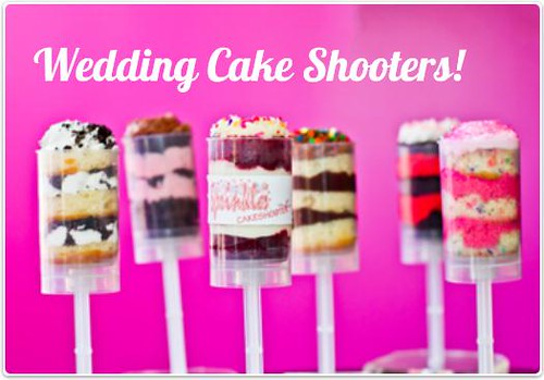 wedding cake shooters