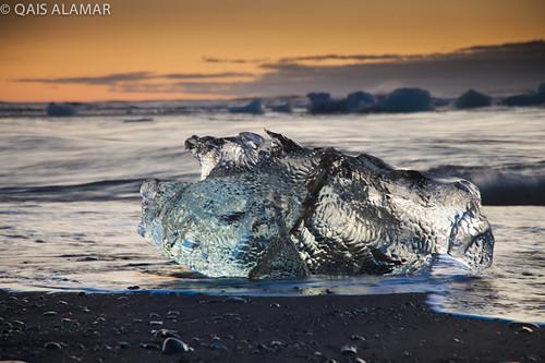 beach sunrise canon is iceland mark reykjavik ii 5d iceberg usm jökulsárlón f4l 24105mm