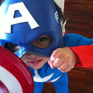 Captain America wants to remind you all to vote your conscience today!