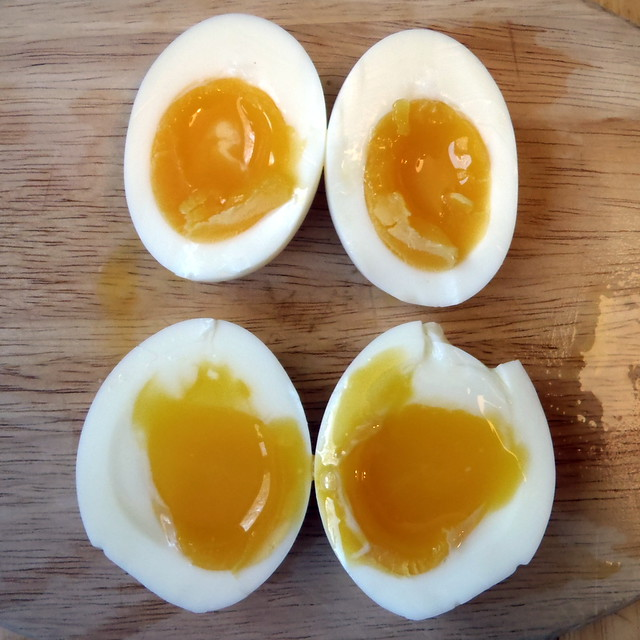 how to cook soft boiled eggs for ramen