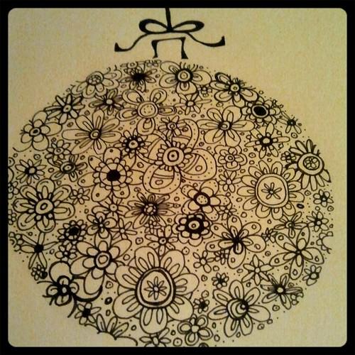 doodle ornament 2