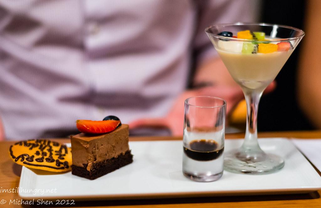 Azuma Chifley desserts