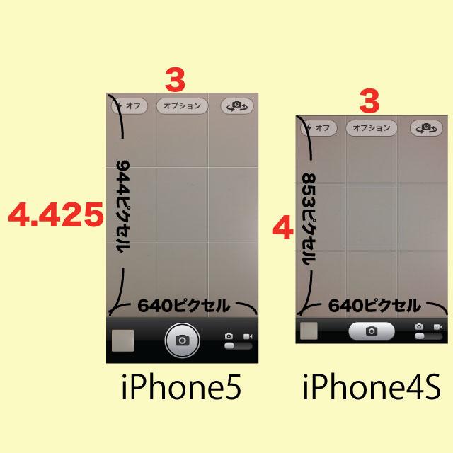 カメラアプリ比較