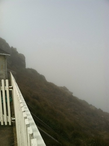 Looking back from Pt Reyes lighthouse