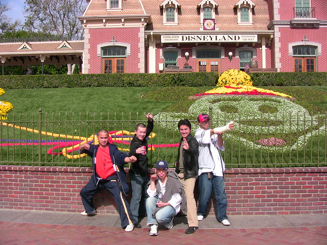 2009-2-5「Shaolin Monks To Disneyland VIP Tour」