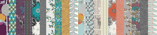 indelible prints collection by Katarina Roccella for Art Gallery fabrics