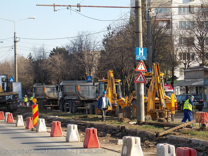 Traseul 102, etapa I: Bucla Nord ( Sp. Județean ) - Intersecție Republicii 13355661794_df3833dc61_c