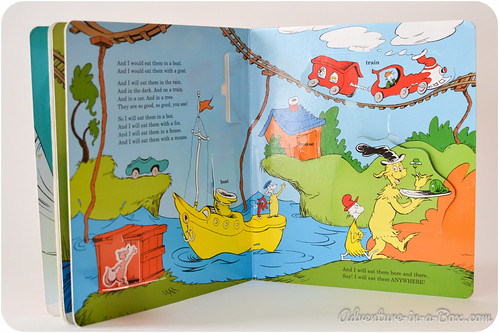 Books of Few Words: Dr Seuss and Emily Gravett - Adventure in a Box