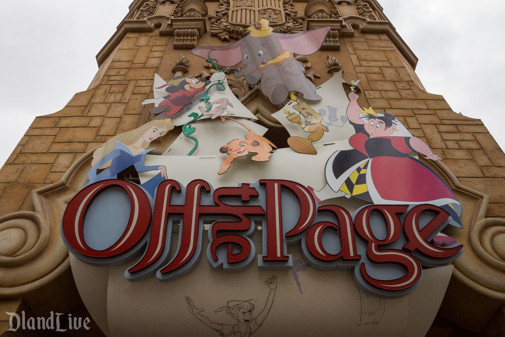 Off the Page at Disney California Adventure