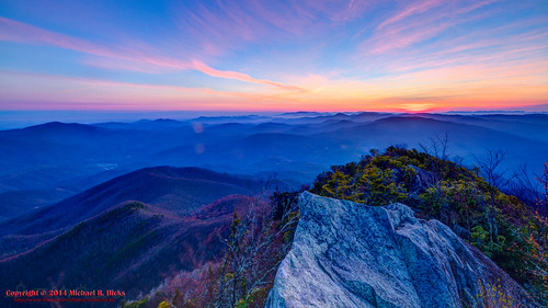 usa sunrise landscape geotagged spring unitedstates hiking tennessee hdr cosby greatsmokymountainsnationalpark gsmnp photomatix crestmont sigma1020mmf456exdc mountcammerer canon7d nashvillehikingmeetup catonsgrove geo:lat=3576357334 geo:lon=8316128263