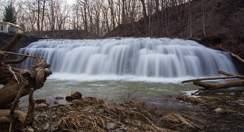 Little Tonawanda Creek falls