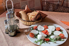 Appetizer  - Caprese salad