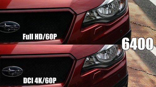 EOS-1D X Mark II_4K x FHD感度別画質比較