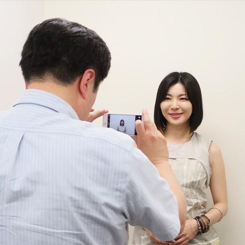 モデルになっていただいて、撮影の実技! #amn勉強会 #iphonegraphy