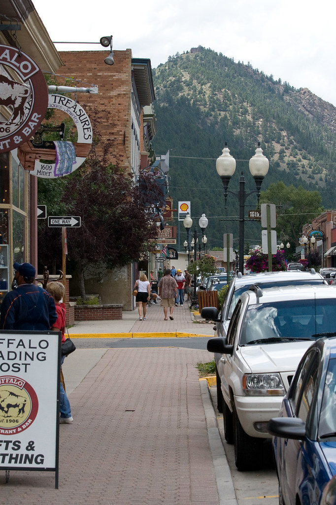 idaho springs streetscape