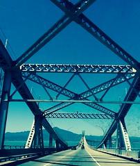 Bay bridge , sf
