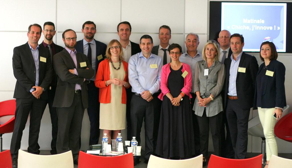 les membres du Groupe de Travail Innovation du MEDEF Lyon-Rhône