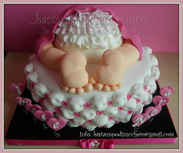 Baby Rump Cake Images : Baby rump cake Nora... Flickr - Photo Sharing!