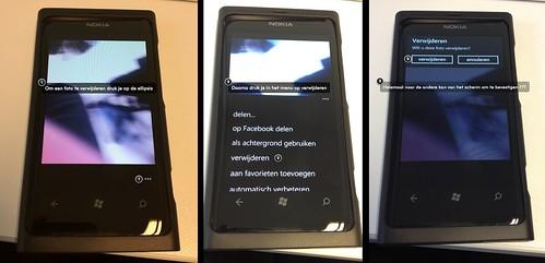 Een foto verwijderen op Windows Phone 7