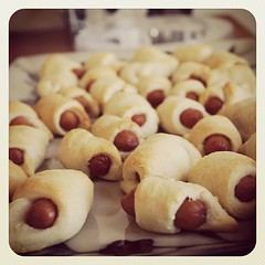 Pigs in blankets #madmenparty